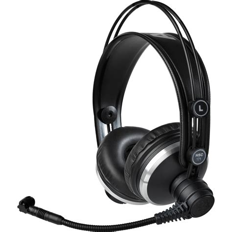 Headset Akg akg hsc171 professional headset with condenser 2955x00280 b h