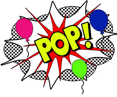 pop clipart we make your events pop balloon artists new mexico