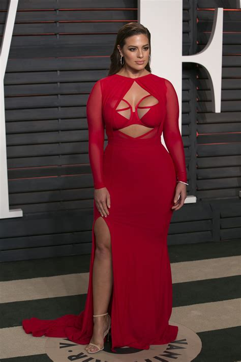 oscars ashley graham ashley graham 2016 vanity fair oscar party in beverly