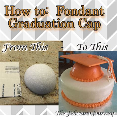 How To Make A Graduation Cap Out Of Paper - how to make fondant graduation cap the feliciano journey