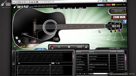 tutorial le guitar tab and play complete video tutorial for online guitar