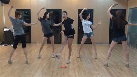 tutorial dance exid exid i feel good mirrored dance practice youtube