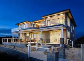 Contemporary Craftsman Homes Beach House Modern Craftsman For Sale Beach Style