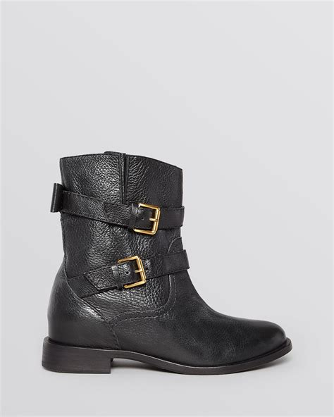 kate spade boots kate spade flat moto boots sabina in brown taupe