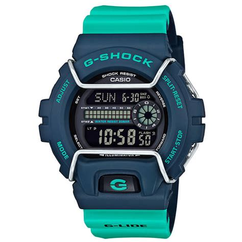 G Shock Gls 6500 Black g shock g lide gls 6900 winter sports