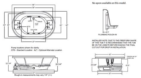 jacuzzi bathtub dimensions jacuzzi bathtub standard size tubethevote