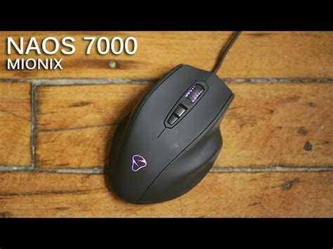 world's first 'smart' gaming mouse   mionix naos quanti