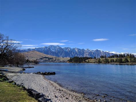 airbnb queenstown new zealand view of double cone the remarkables from my airbnb in