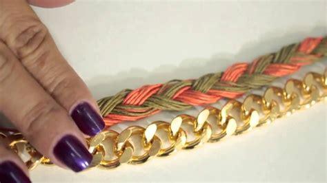 como hacer un collar como hacer un collar cadena tejido1 youtube
