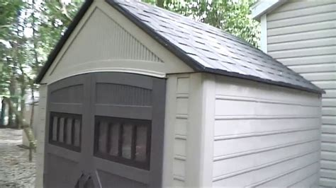 rubbermaid roughneck shed review youtube
