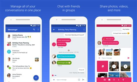 android default messaging app replaces default sms messenger with next android messages app