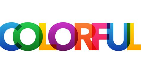 colorful fonts colorful overlapping letters text effect in photoshop