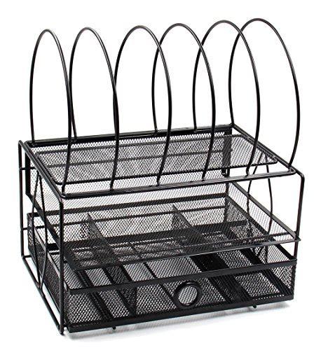 black mesh desk tray easypag mesh desk file organizer tray with 5 sorter drawer