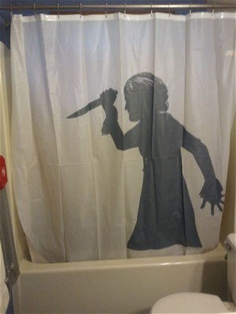 Psycho Shower Curtain by Psycho Shower Curtain Ebay Home