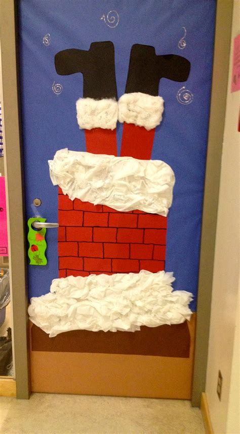 christmas door decoration 3 for school pinterest
