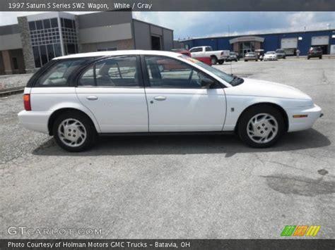 1997 saturn wagon white 1997 saturn s series sw2 wagon gray interior