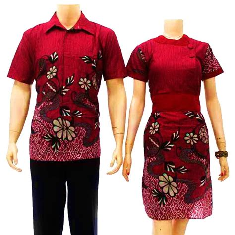 Bahan Pin 58cm sarimbit dress batik kode sd 2700 batik bagoes
