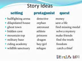 Ideas For Writing A Narrative Essay by Image Gallery Story Ideas