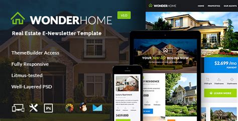 Wonderhome Real Estate Email Template Builder Access By Jeetug Muse Real Estate Template