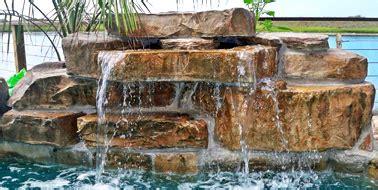 diy pool waterfall swimming pool waterfall kits ricorock 174 inc