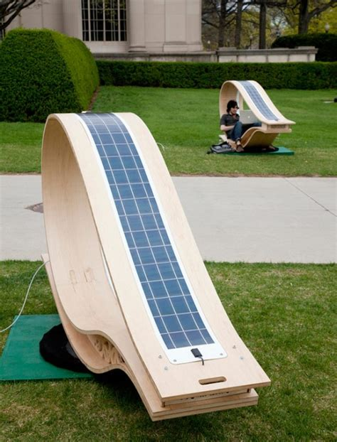 Energy Chair by A Green Energy Chair For Your Garden Desired Home