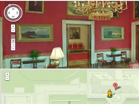 Directions To The White House by Maps Takes You Inside The White House