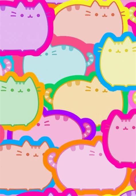kawaii background kawaii background pusheen