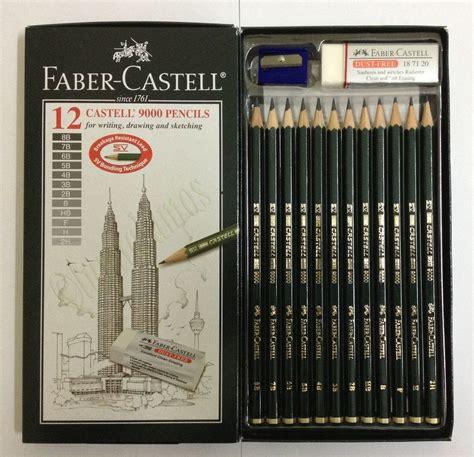 Sale Faber Castell Penggaris Set faber castell castell 9000 set 12 pencils set ebay