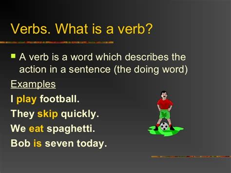 verb tense slide show 1