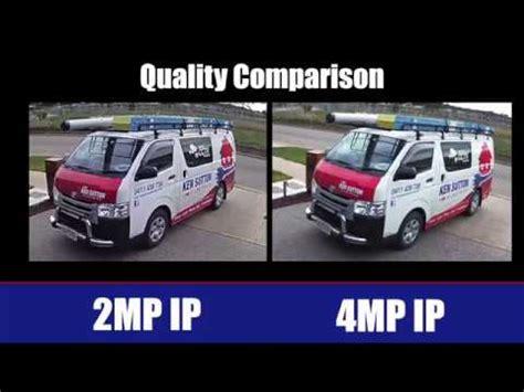 cctv quality comparison 2mp v 4mp comparison   sunbury
