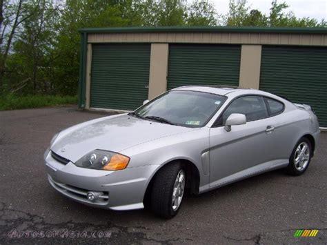2003 Hyundai Tiburon Gt V6 by 2003 Hyundai Tiburon Gt V6 In Silver 092292