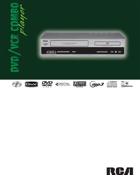 gängigstes format für dvd player rca vhs dvd player manual