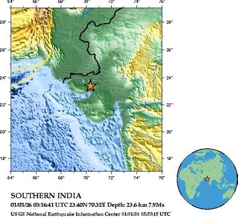 earthquake zone in gujarat earthquake section at gujarat online