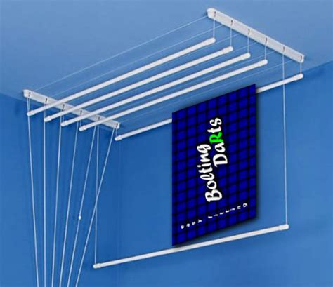 Ceiling Air Dryer by White Ceiling Dryer Pulley Airer Clothes Laundry 5 To 9