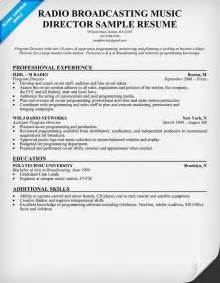 resume format resume for music industry