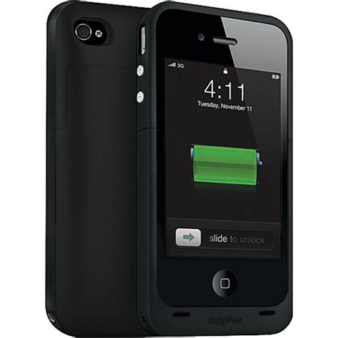 H Iphone 4s Mophie Juice Pack Plus Battery Pack For Iphone 4 4s 1160
