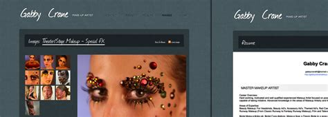 Examples Of A Resume Profile by Examples Of Make Up Artist Websites And Make Up Artist