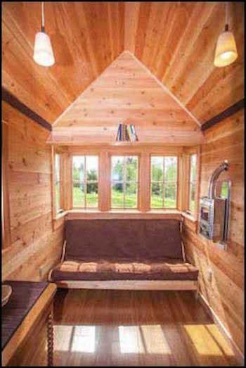 jade house high quality 8 x18 tiny house from jade craftsman builders