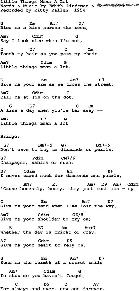 Little Things Guitar Chords