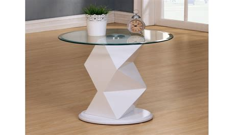 white high gloss end table white high gloss glass coffee side console table