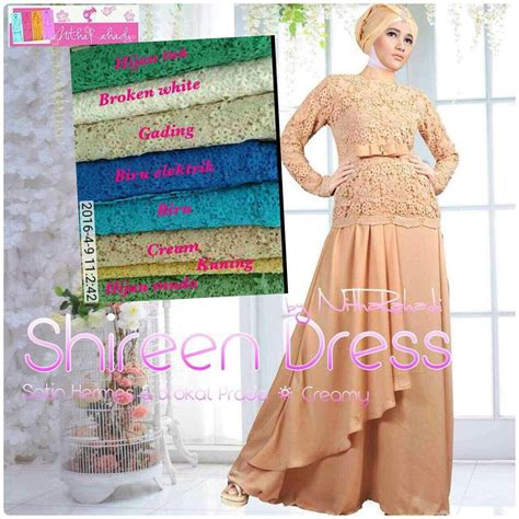 Dahlia Dress Gamis Busana Muslim shireen dress by nitha rahadi dahlia dress baju muslimah