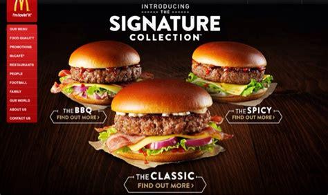 mac donald new veggie range mcdonald s signature collection burger review