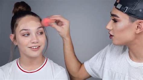 james charles makeup maddie ziegler youtube james charles