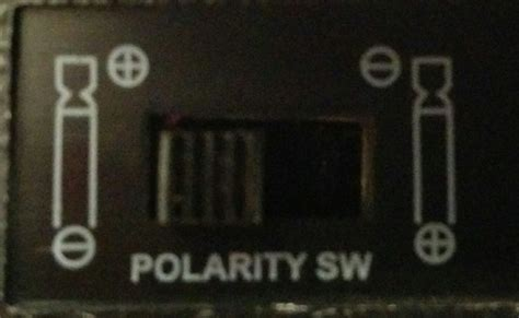 polarity symbols power supply polarity symbols on universal ac dc adaptor