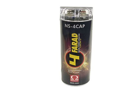 diesel audio 2 farad capacitor diesel audio ns 4cap product ratings and reviews at onlinecarstereo