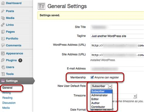 wordpress tutorial user registration how to enable users to register themselves in wordpress
