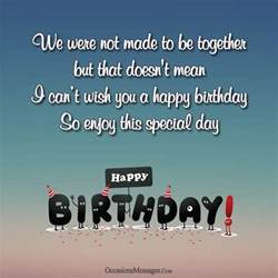 happy birthday wishes for ex husband occasions messages