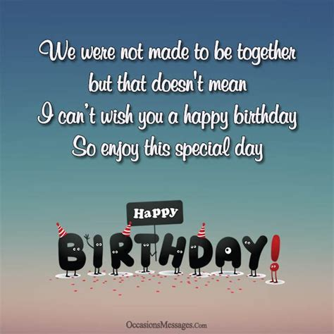 Wishing Happy Birthday Happy Birthday Wishes For Ex Husband Occasions Messages