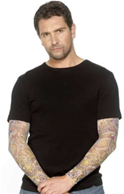 tattoo arm sleeve colour design novel gift idea