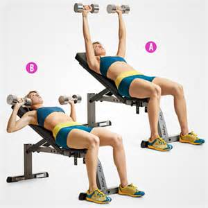 dumbbell incline bench press 6 trainers favorite exercises for stronger sculpted arms